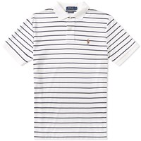 Polo Ralph Lauren Slim Fit Stripe White