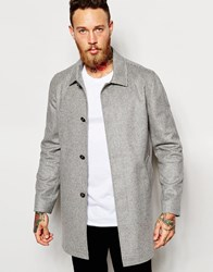 Noose And Monkey Wool Dogtooth Mac Lightgrey