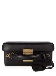 Mark Cross Grace Small Saffiano Leather Box Bag Black