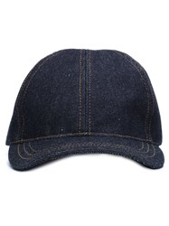 A.P.C. Denim Cap Blue