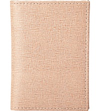 Aspinal Of London Double Fold Leather Card Holder Deer