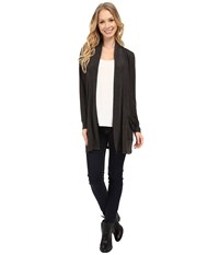 Calvin Klein Jeans Downtown Cardigan Dark Charcoal Heather Women's Sweater Black