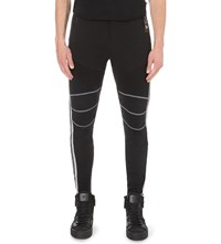 Philipp Plein Come To Daddy Cotton Jogging Bottoms Black Silver