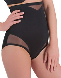 Miraclesuit Extra Firm Control Sexy Sheer High Waist Brief Black