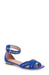 Joie 'Luca' Leather Sandal Women Deep Indigo