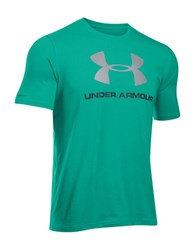 Under Armour Charged Cotton Sportstyle Logo T Shirt Green
