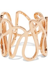 Repossi White Noise 18 Karat Rose Gold Ring