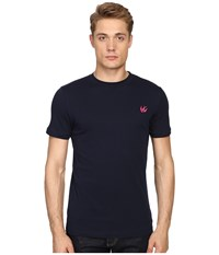 Mcq By Alexander Mcqueen Short Sleeve Crew Tee Ink