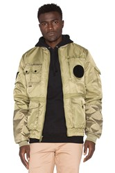 10.Deep Technicians Aviator Jacket Army