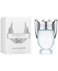 Paco Rabanne Invictus Aqua Eau De Toilette 4.2 Oz Limited Edition No Color