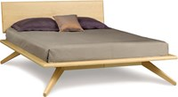 Copeland Furniture Astrid Bed With 1 Adjustable Headboard Panel