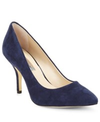 Inc International Concepts Women's Zitah Pumps Women's Shoes Eclipse Navy Suede