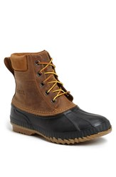 Men's Sorel 'Cheyanne' Snow Boot Chipmunk