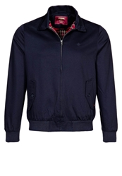 Merc Harrington Twill Jacket Light Jacket Navy Blue