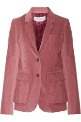 Gabriela Hearst Louisa Corduroy Blazer Antique Rose