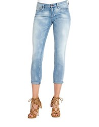 Jessica Simpson Forever Cropped Skinny Jeans Cabo