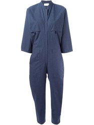 Reality Studio 'Holger' Jumpsuit Blue