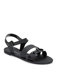 French Connection Juno Studded Sandals Black