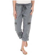 Xcvi Emerson Crop Mallord Women's Casual Pants Blue