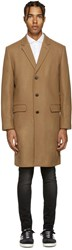 Tiger Of Sweden Tan Wool Dempsey Coat