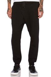 Public School Asymmetrical Sweatpant Black