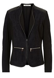Betty Barclay Faux Suede Jacket Black