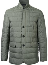 Kent And Curwen Padded Jacket Green