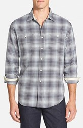Men's Grayers 'Vintage Twill' Modern Fit Check Sport Shirt
