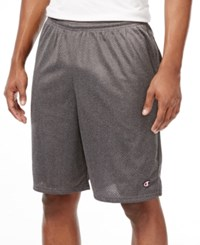 Champion Men's Mesh Shorts Granite Heather