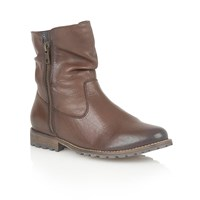 Lotus Lorie Ankle Boots Brown