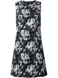 Paule Ka Printed Jersey Dress Black