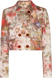 Vivienne Westwood Red Label Cropped Cotton Blend Jacket White