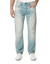 Buffalo David Bitton Evan Light Wash Jeans Blue