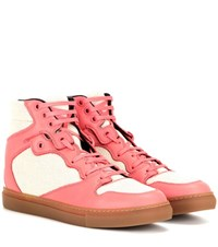 Balenciaga High Top Sneakers Pink