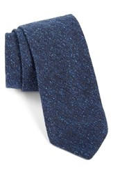 Men's Todd Snyder White Label Solid Cotton Tie Navy