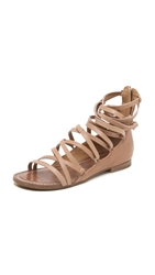Belle By Sigerson Morrison Appa Gladiator Sandals Natural