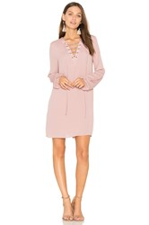 Bcbgeneration Lace Up Dress Pink