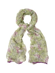 White Stuff Sprigs And Butterflies Scarf
