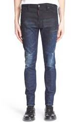 Men's Dsquared2 'Cool Guy' Distressed Degrade Print Slim Fit Jeans