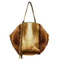 Carlos Falchi Bell Tote Bag Multi