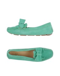 Ice Iceberg Footwear Moccasins Women Light Green