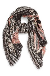 Hinge Women's 'Tapestry Patchwork' Scarf