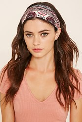 Forever 21 Embroidered Lace Headwrap