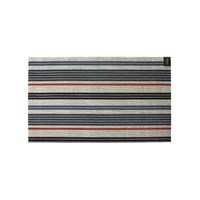 Chilewich Mixed Stripe Shag Rug Montauk 61X91cm