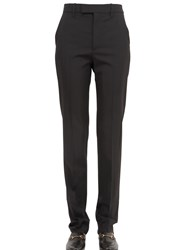 Gucci 18Cm Stretch Wool Silk Drill Pants
