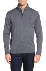 Tailorbyrd Men's Grinnell'quarter Zip Wool Sweater