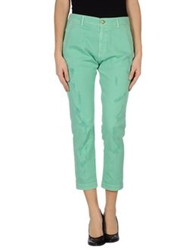 Monocrom Denim Pants Light Green