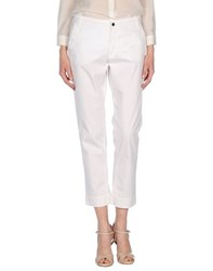 Gant Trousers Casual Trousers Women White