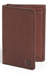 Andrew Marc New York 'Bowery' Wallet Cognac