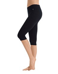 Danskin Cropped Leggings Black